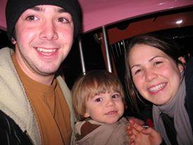 Ian and April Jones with April's son, Alex