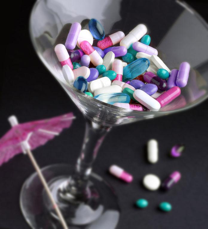 drug cocktails in fatal overdoses