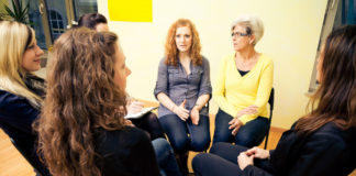 women in drug rehab