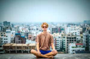 meditation eases mental stress