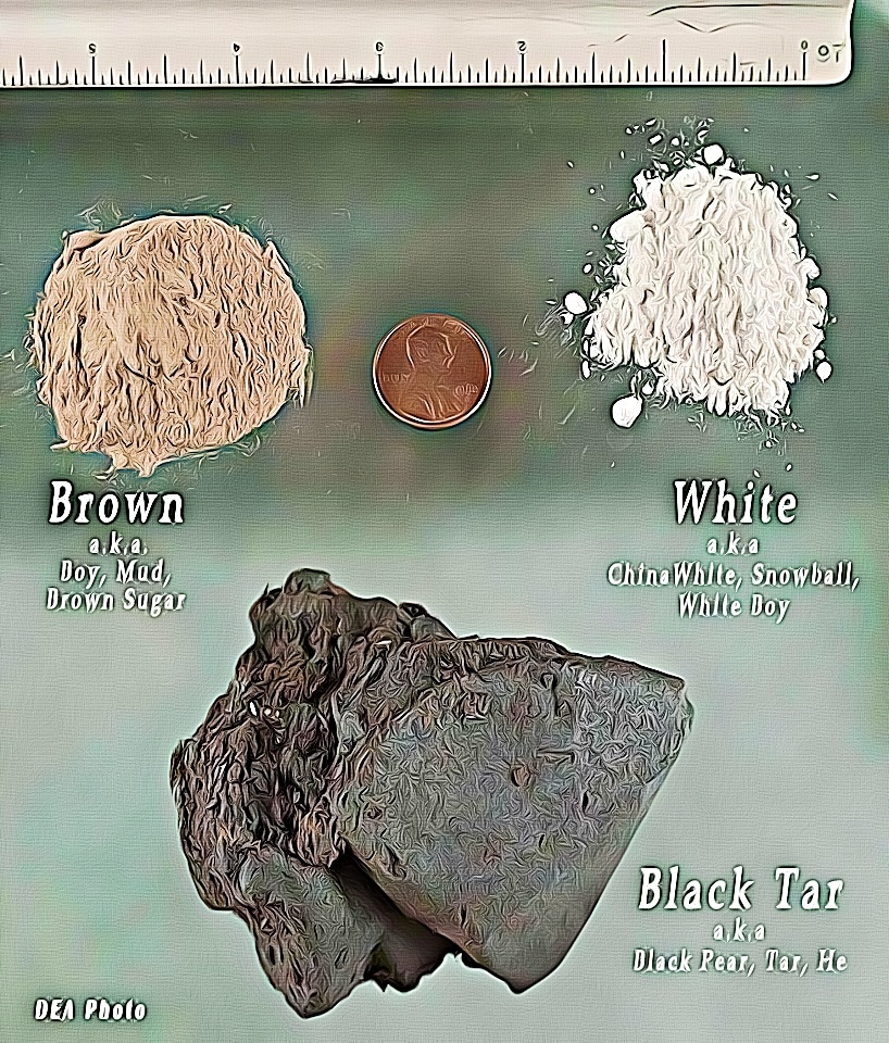 black tar heroin vs heroin